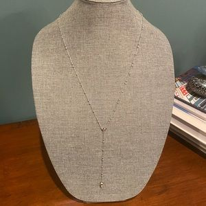 Rebecca Minkoff Beaded Y Necklace NWT